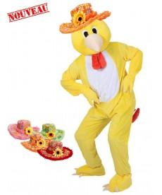 chapeau accessoire mascotte