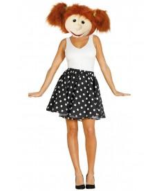 Mascotte fille années 60