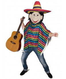 mascotte personnage mexicain