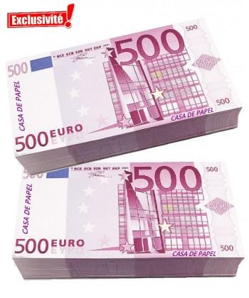 liasse faux billet casa de papel