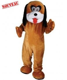 mascotte chien dessin animé