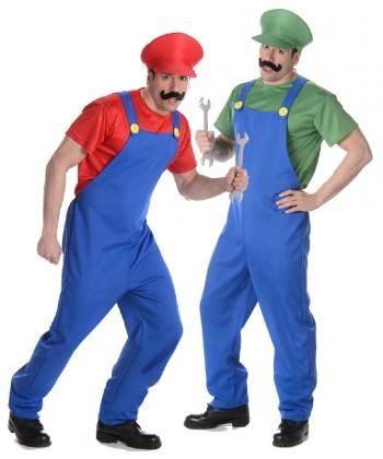 Déguisement Mario et luigi