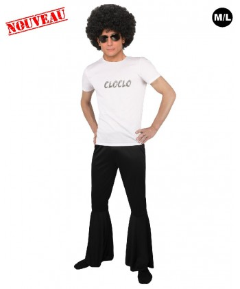 pantalon disco homme pas cher