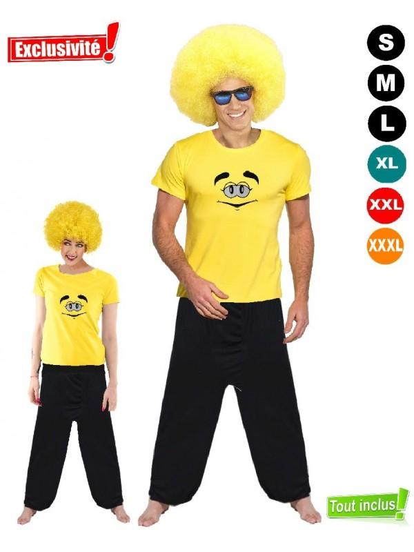 Déguisement metms jaune pas cher