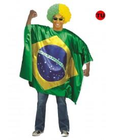 Déguisement brésilien (Drapeaux)