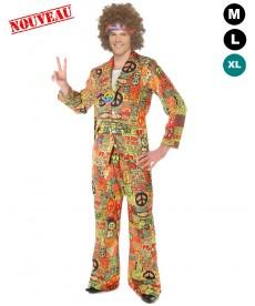 Déguisement hippie homme pas cher