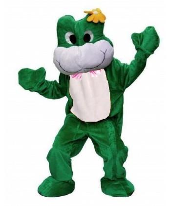 Mascotte pro de grenouille