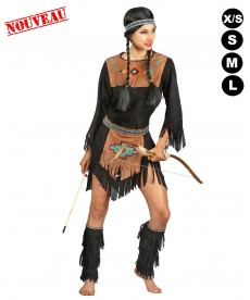 Déguisement indienne Pocahontas