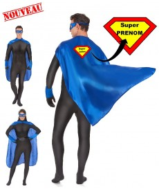 Déguisement super héros personnalisé