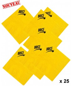Serviettes Brice de Nice (x25)