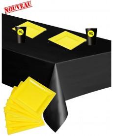 Assiettes jaune Brice de Nice (x12)