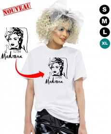 Déguisement Madonna Tshirt