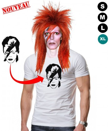 Déguisement David Bowie Tshirt