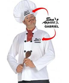 Set cuisinier personnalisé