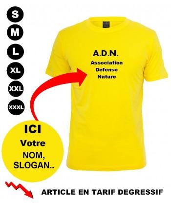 T shirt personnalisé publicitaire