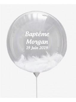 Ballon personnalisé mariage