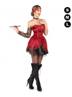 Déguisement Cabaret saloon femme