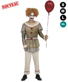 Déguisement Clown tueur halloween
