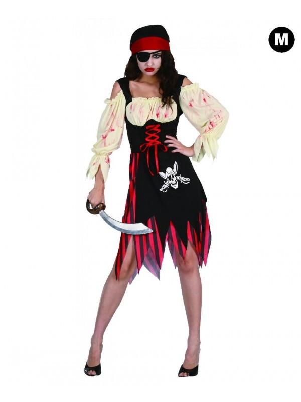 Déguisement pirate zombie Femme