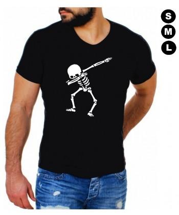Tee shirt halloween Squelette