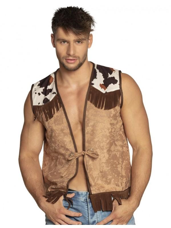 Gilet de cowboy petit prix