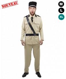 Déguisement de gendarme (XL)