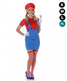 Déguisement Mario Bross femme