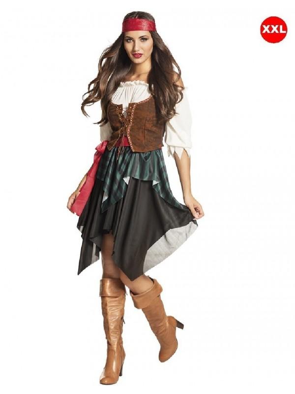 déguisement pirate femme grande taille XXL