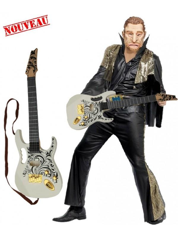 Guitare Johnny Hallyday - Déguisement