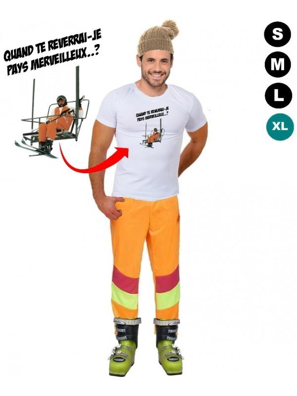 Déguisement Les Bronzés font du ski - Tshirt