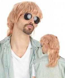 Perruque mulet blonde
