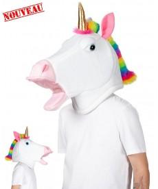 Mascotte de licorne - Tête