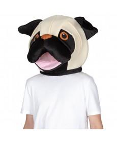 Mascotte bouledog - Tête