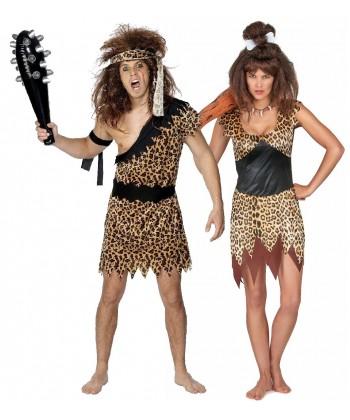 Déguisement couple préhistorique