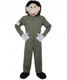 Mascotte Aviateur pilote