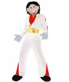 mascotte personnage rockeur