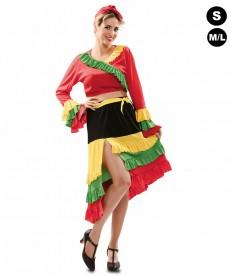 Déguisement femme Rumba Salsa