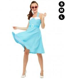 Déguisement femme Pin-up années 50