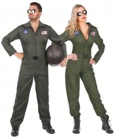 Déguisement TOP GUN couple