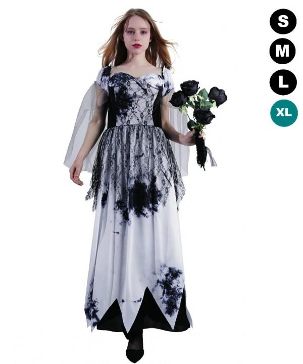 Deguisement Halloween Mariee Gothique Fiesta And Co