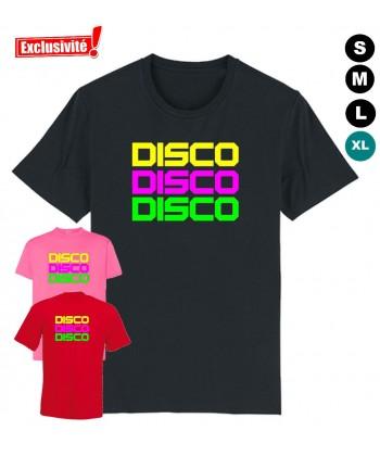 Déguisement Tee shirt Disco femme homme