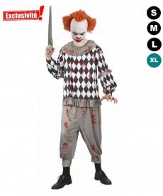 Déguisement Halloween Clown sanglant