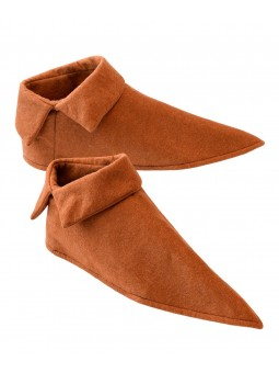 Sur chaussures médiévales