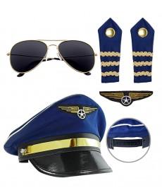 Déguisement pilote d'avion - Kit
