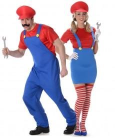 Déguisement Couple Mario Bross