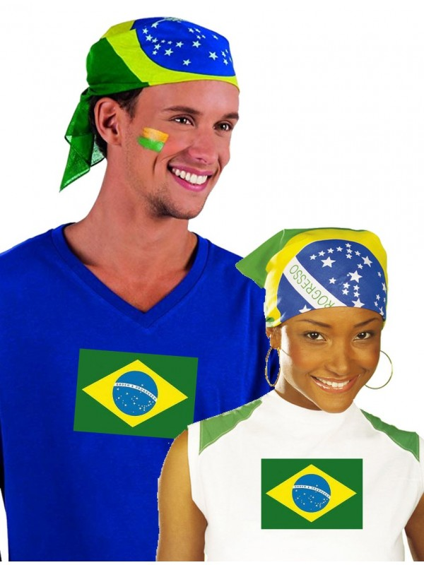 Bandana brésil brésilien