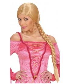 Perruque de Châtelaine blonde