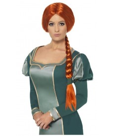 Perruque de princesse médiévale