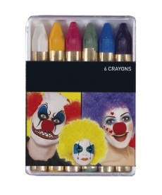 6 crayons gras de maquillage