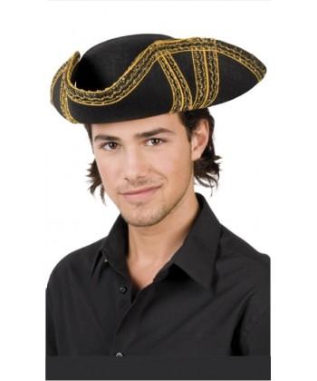 Chapeau tricorne de pirate